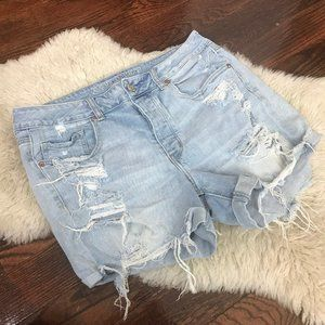 American Eagle Tomgirl Shorts Distressed Sz 12